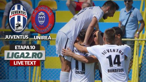 Juventus a spulberat-o pe Unirea Tărlungeni şi îşi menţine poziţia de lider. Vezi scorul umilitor cu care a câştigat echipa lui Daniel Opriţa