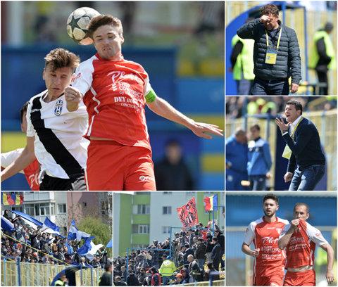 Laurenţiu Roşu l-a învins pe Opriţa şi continuă cursa pentru promovare. Căpitanul Gligor, înger şi demon pentru UTA în derby-ul cu Juventus   GALERIE FOTO