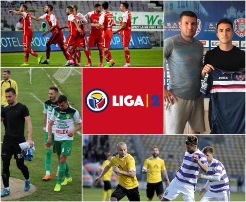 """20 echipe s-au înscris în noul sezon al Ligii 2, mai puţin FC Braşov, dar cu retrogradata Metalul Reşiţa. Aflată în moarte clinică, Foresta a depus cerere pentru că """"nu ne costă nimic"""""""