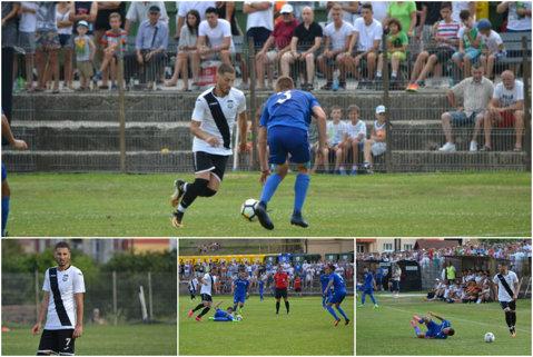 Gicu Grozav n-a ajuns la Dinamo, dar a jucat, a înscris şi a făcut tumbe pentru o altă echipă românească după ce s-a despărţit de Terek Groznyi