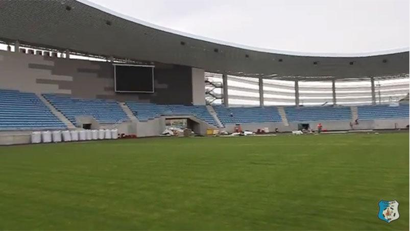 Echipă de liga a doua, stadion de cinci stele! VIDEO   Arena ultramodernă va fi gata la finalul lunii septembrie
