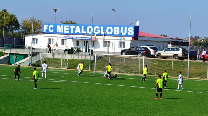 Echipa de fotbal din Liga 2, Metaloglobus, a semnat un contract cu greutate