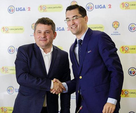 Liga 2 Casa Pariurilor! FRF a oficializat asocierea campionatului pe care îl organizează cu o companie de betting. Reacţia lui Răzvan Burleanu