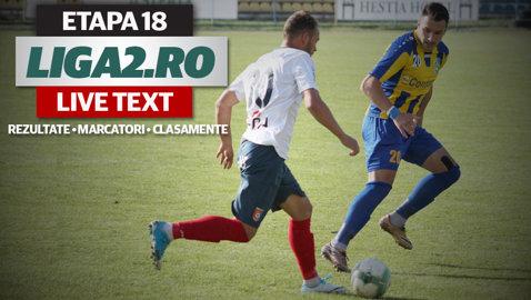 Schimbare de lider în Liga 2 după desfăşurarea derby-ului Dunărea - Chindia. Poli câştigă în faţa Ripensiei, iar UTA a participat la meciul etapei cu cele mai multe goluri. Rezultatele şi marcatorii penultimei runde a turului