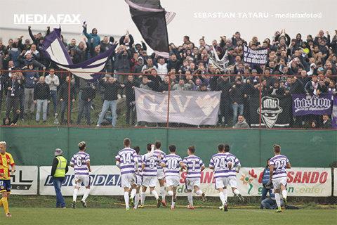Înainte, Politehnica! Alb-violeţii au câştigat şi derby-ul local cu Ripensia după victoria din octombrie cu rivala UTA