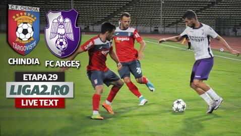 Meci nebun la Târgovişte, cu şase goluri, dintre care trei din penalty! Se reaprinde lupta pentru barajul promovarii după derby-ul Chindia - FC Argeş