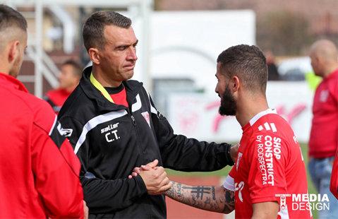 """UTA a rămas din nou fără antrenor principal. Cristian Todea a demisionat: """"Misiunea mea s-a terminat. UTA e pe mâini bune"""""""