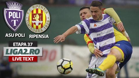 ASU Poli dă lovitura pe final în derby-ul cu Ripensia. Suporterii alb-violeţi au sărbătorit 10 ani de la înfrăţirea cu Borussia Monchengladbach