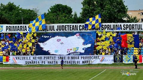 Chindia i-a stricat sărbătoarea Dunării! Călărăşenii au ratat şansa să primească trofeul Ligii 2 în faţa propriilor spectatori. Cupa s-a întors la Bucureşti şi poate fi obţinută de Hermannstadt