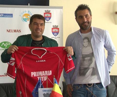 """Mărgăritescu îl urmează pe Adrian Neaga la Titu, în Liga 3: """"Eu m-am gândit să mă retrag, dar dacă Rică trage de mine"""""""