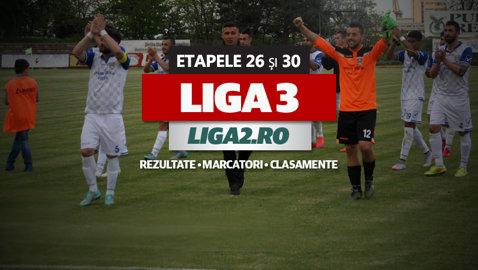 Rezultatele şi marcatorii ultimei etape din Liga 3. CS Afumaţi şi Juventus Bucureşti sunt ultimele două echipe promovate în Liga 2. SCM Piteşti şi Delta, marile perdante