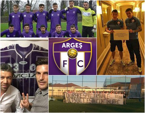 Piteştenii invadează Stoicăneştiul cu gândul la promovarea în Liga 3. Mobilizare exemplară a alb-violeţilor înainte de barajul campioanei FC Argeş