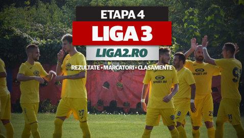 Rezultatele şi marcatorii etapei a 4-a a Ligii 3. SCM Piteşti se împiedică de Flacăra Moreni, Dinamo II o umileşte pe Delta