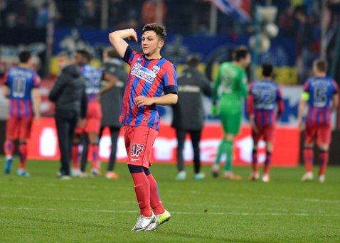 Meci spectaculos între Steaua II şi CS Podari. Ce au făcut puştii de la echipa a doua a Stelei! Mihai Stoica a asistat şi el la meci
