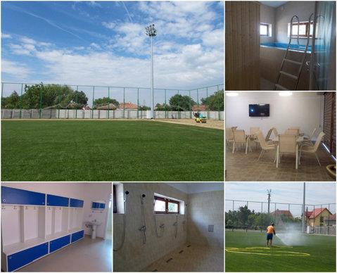 La oraş nu se poate, la ţară - da! O comună de lângă Timişoara îşi inaugurează baza sportivă în care a investit aproape un milion de euro | FOTO