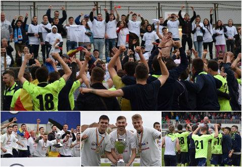 VIDEO | Miroslava scrie istorie! Ştiinţa a promovat în Liga a 2-a după victoria de pe terenul liderului Csikszereda. Ieşenii, aşteptaţi acasă de suporteri pentru a sărbători