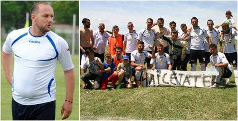 Dorel Stoica încă joacă fotbal şi e aproape să promoveze în Liga 3. Fostul mijlocaş al naţionalei ar vrea ca actuala sa echipă să se mute la Severin sau Calafat