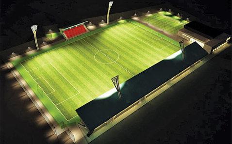 Nu doar în Alexandria se face un stadion nou, ci şi într-un alt oraş din Teleorman. O echipă nou-promovată îşi schimbă numele şi se mută pe cocheta arenă