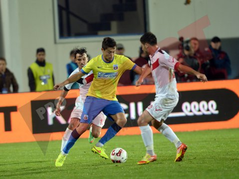 """Iancu, eroul Stelei în meciul cu Berceni: """"A fost un meci greu. Nu mă aşteptam să marchez de trei ori"""""""