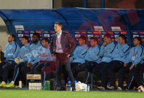 """Impresionat de """"tripla"""" lui Iancu, Gâlcă recunoaşte că Steaua nu a avut cel mai bun meci cu Berceni: """"Am găsit cu greu drumul spre poartă"""""""