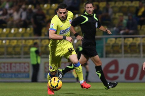 Cu chiu, cu vai: Steaua s-a calificat în sferturile Cupei României, după golul lui Stanciu din minutul 89: CSMS Iaşi - Steaua 0-1