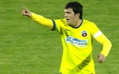 """Bourceanu, primul meci după 10 luni pentru Steaua: """"E greu la fotbal. Am fost emoţionat"""" Ce anunţă înaintea """"Clasicului"""" cu Dinamo"""