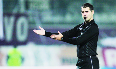 Robert Dumitru va arbitra meciul CFR Cluj - Universitatea Cluj