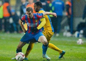 Petrolul - Steaua 1-1. Alex Chipciu înscrie în minutul 90+4, la ultima fază a jocului. Incidente între jucători la final, pe tunel