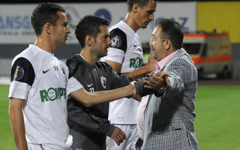 """Walter merge pe Cluj Arena după trei ani de absenţă. Finanţatorul Universităţii a stabilit prima pentru câştigarea Cupei: """"Împărţiţi banii!"""""""