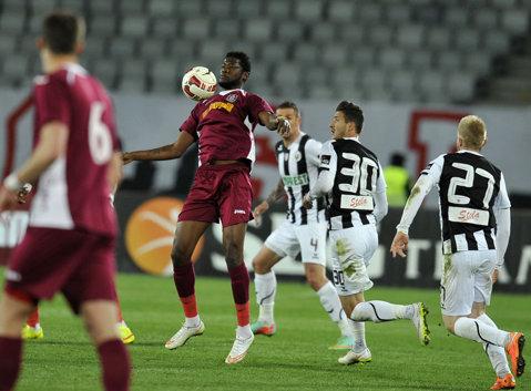 """Ce b""""U""""curie, după 50 de ani. """"Şepcile roşii"""" sunt în finala Cupei, Veselovsky a fost erou pe Cluj Arena"""