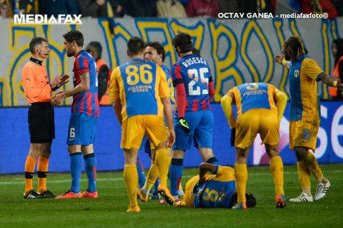 EXCLUSIV | Central-surpriză la finala Cupei Ligii. Cine arbitrează meciul dintre Steaua şi Pandurii