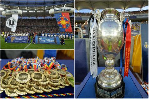 Programul sferturilor Cupei României: Viitorul - Steaua, ACS Poli - ASA Târgu-Mureş, Dinamo - Astra, CSMS Iaşi - CFR Cluj
