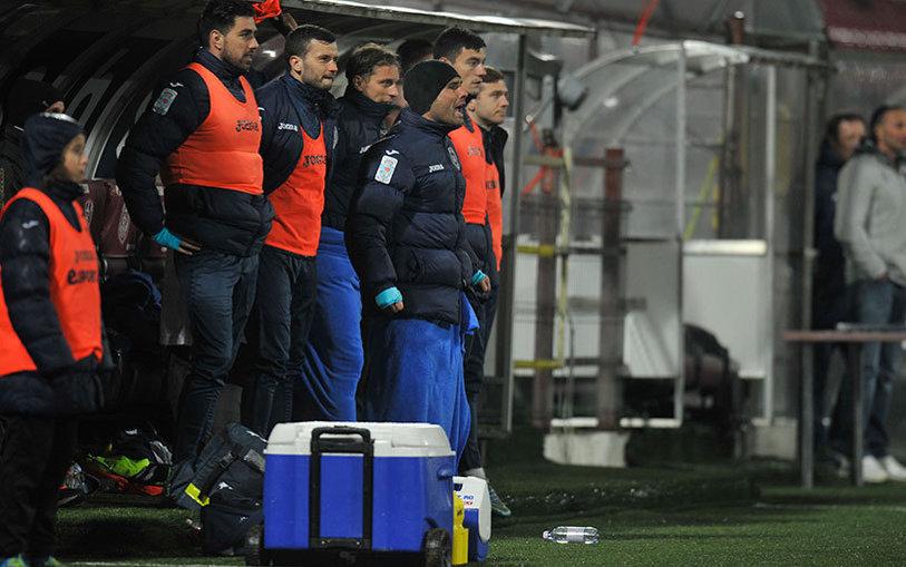 Punct şi de la capăt. ASA - CFR s-a terminat 0-0, iar finalista se decide la Cluj. Mutu a intrat în minutul 63