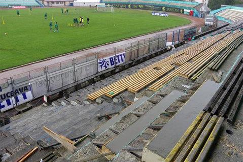 Stadionul din Suceava a intrat în reparaţii înaintea meciului Forestei cu Steaua. Câţi bani trebuie să dea suporterii pe bilet pentru a participa la jocul din 16-imi şi ce modernizări vor observa