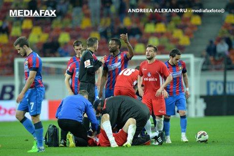 """Delegare cu probleme. Foresta - Steaua, meci condus de un arbitru ameninţat de Argăseală: """"O ruşine, nu poţi trata aşa o echipă!"""""""