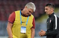 """Ioan Andone a intrat în vestiarul lui Dinamo 2 după ce puştii au chinuit echipa mare. """"A fost şansa lor..."""" Ce le-a spus """"Fălcosul"""" şi mesajul pentru fanii care îi cer demisia"""