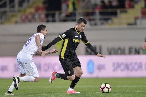 """Budescu, după ce l-a """"ajutat"""" pe Comănescu să greşească: """"Am fost atins la ambele penalty-uri!"""" Cum vede mijlocaşul Astrei lupta la titlu"""