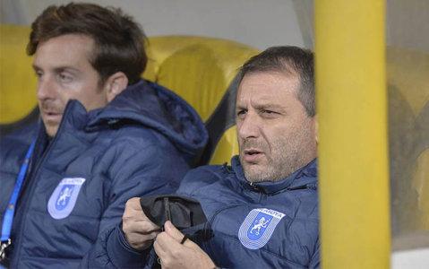 Mangia abia aşteaptă derby-ul cu FCSB. Ce a spus italianul după victoria de la Braşov