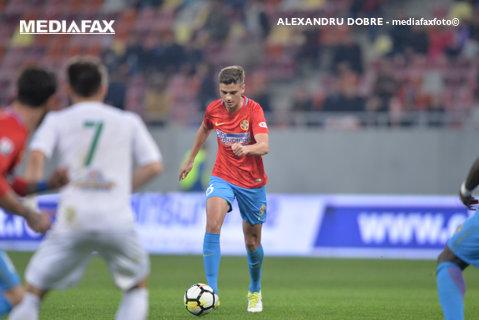 """Nedelcu, la un pas să înscrie un gol fabulos fără să vrea. """"Pasa"""" spre Straton s-a transformat într-un şut """"marca Hagi"""""""