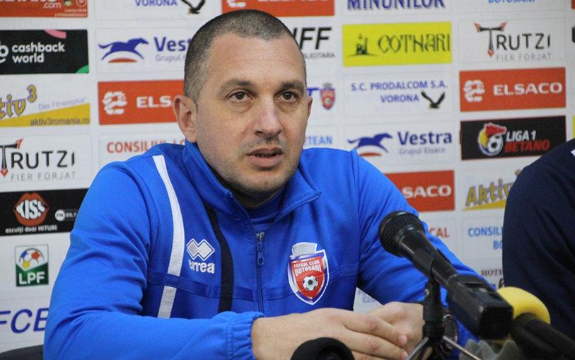 Bucuria, stare generală la Botoşani. Costel Enache, extrem de fericit după calificarea în semifinala Cupei României