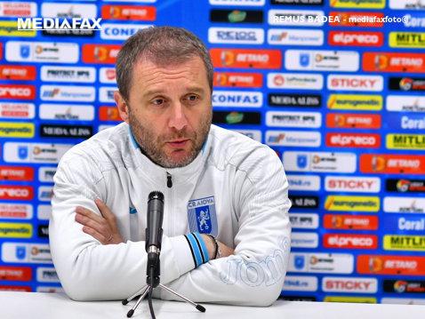 """Mangia, înainte de semifinala cu FC Botoşani: """"Ne vom bate pentru podium şi pentru Cupă, dar trebuie să vorbim mai puţin şi să jucăm mai mult fotbal"""". Ce a decis în privinţa lui Băluţă"""