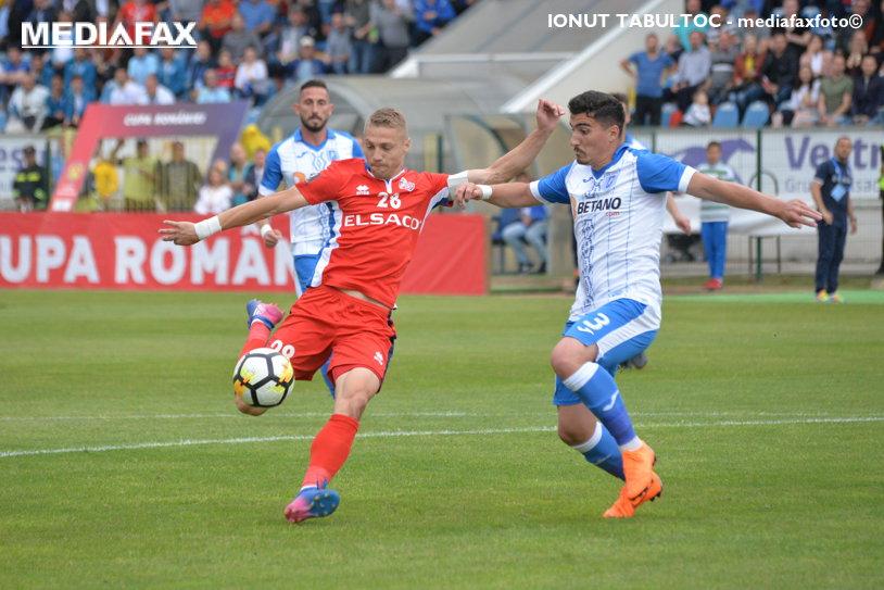 FC Botoşani - CS U Craiova 2-1. Oltenii s-au calificat în finala Cupei! Gazdele au marcat de patru ori, dar două goluri au fost anulate. Suporterii au scandat împotriva arbitrilor