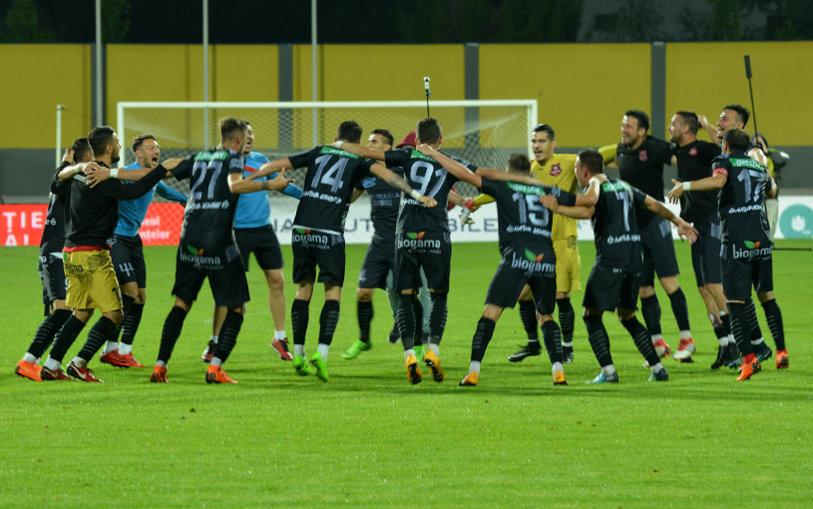 """Şi-a făcut încălzirea pentru Liga 1 Betano cu o calificare în finala Cupei României. Pelici: """"Fotbalul ne-a arătat că se poate orice"""""""