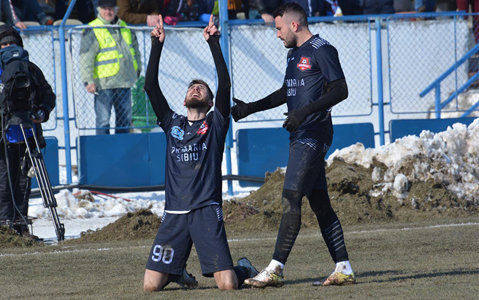"""Golgheterul surprizei Hermannstadt visează la încă o seară mare: """"După dubla cu FCSB am primit mai multe mesaje decât de ziua mea"""". Finala cu Craiova va schimba destine"""