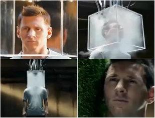 Ce tratament inuman a suportat Lionel Messi pentru bani: ninsoare, frig, căldură, umiditate şi o bucată de gazon peste faţă   VIDEO