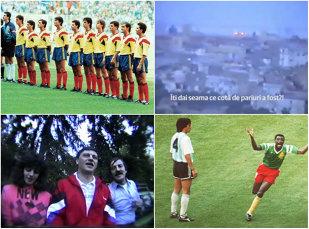"""Paria Generaţia de Aur la Mondialul din 1990? Dialogul misterios rămas pe o înregistrare uitată în arhiva TVR deschide un subiect tabu. Cornel Dinu, despre impresarul care le schimba valută """"tricolorilor"""": """"Da, ştia tot cu pariurile!"""""""