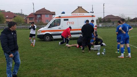 """Ce mai face jucătorul din Bihor salvat miraculos după ce a suferit un infarct pe teren. La aproape o lună de la incident e încă la spital şi povesteşte ce îşi aminteşte: """"Mă consider un mare norocos"""""""