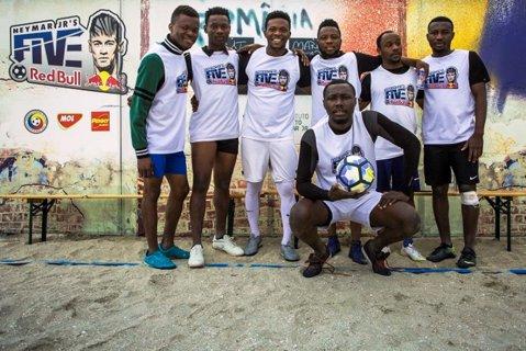 Nigerienii de la Marine Stars sunt ultimii finalişti Neymar Jr's Five