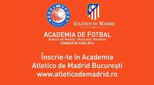 Atletico Madrid caută cei mai buni juniori din România: vineri, 29 august, ora 16.00