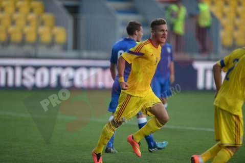 """George Puşcaş l-a impresionat pe Viorel Moldovan: """"Cred că va fi următorul mare număr nouă al echipei naţionale"""""""